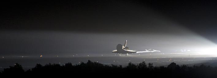Poslední přistání Endeavouru