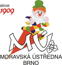 Logo Moravské ústředny Brno