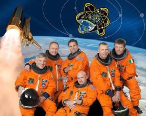 Oficiální fotografie posádky mise STS-134