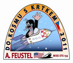 Logo Do kosmu s Krtkem © Zdeněk Miler