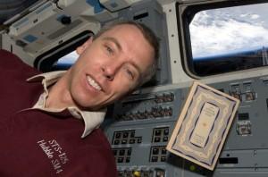 Andrew Feustel a Písně kosmické ve vesmíru
