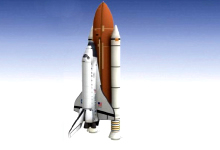 Jak startuje raketoplán a co se děje po startu